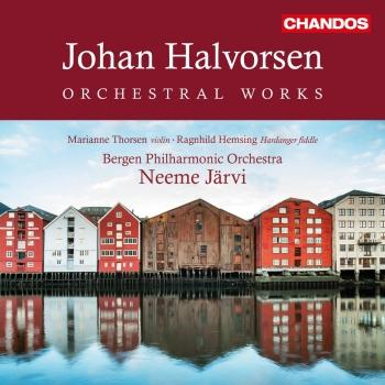 Cover Halvorsen: Orchestral Works