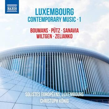 Cover Luxembourg Contemporary Music, Vol. 1
