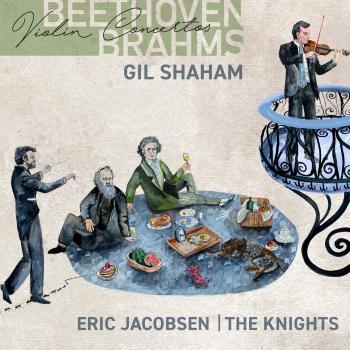 Cover Beethoven, Brahms: Violin Concertos