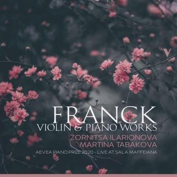 Cover Franck: Violin & Piano Works (Live)