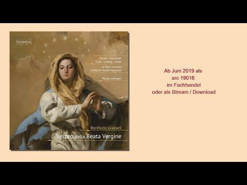 Video Bonifazio Graziani - Vespro della Beata Vergine