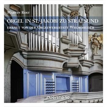 Cover Orgel in St. Jakobi zu Stralsund