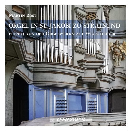 Cover Orgel in St. Jakobi zu Stralsund