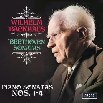 Cover Beethoven: Piano Sonatas Nos. 1, 2, 3 & 4 (Remastered)