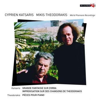Cover Grande fantaisie sur Zorba, une rhapsodie Grecque (World Premiere Recording)