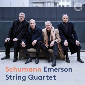 Cover R. Schumann: String Quartets Nos. 1-3, Op. 41