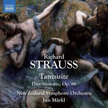 Cover R. Strauss: Tanzsuite & Divertimento aus Klavierstücken von François Couperin