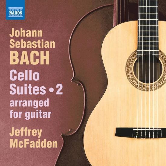 Cover J.S. Bach: Cello Suites, Vol. 2 (Arr. J. McFadden for Guitar)