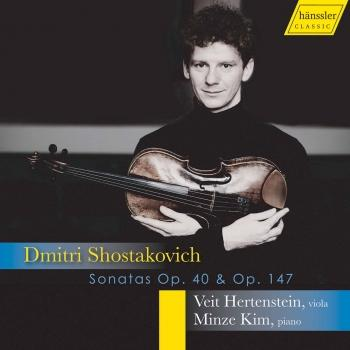 Cover Shostakovich: Cello Sonata in D Minor, Op. 40 & Viola Sonata, Op. 147