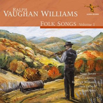 Cover Ralph Vaughan Williams: Folk Songs, Vol. 1