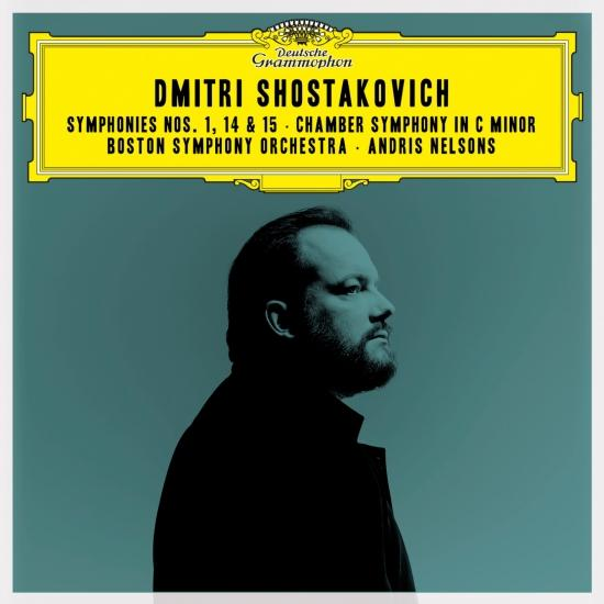 Cover Shostakovich: Symphonies Nos. 1, 14 & 15; Chamber Symphony in C Minor