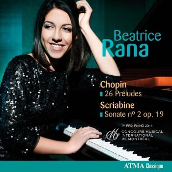 Cover Chopin: 26 Preludes / Scriabin: Sonate No. 2 Op. 19