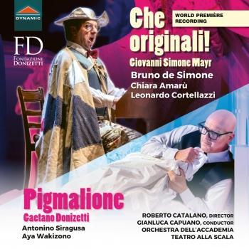 Cover Donizetti: Pigmalione - Mayr: Che originali! (Live)