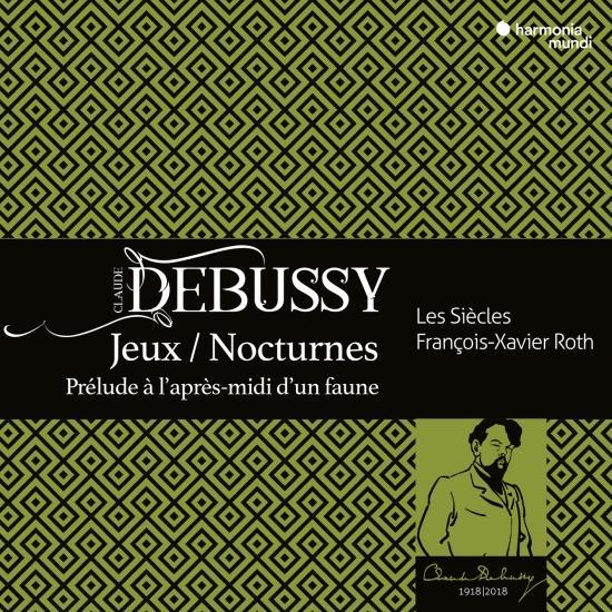 Cover Debussy: Jeux, Nocturnes, Prélude à l'aprés midi d'un faune