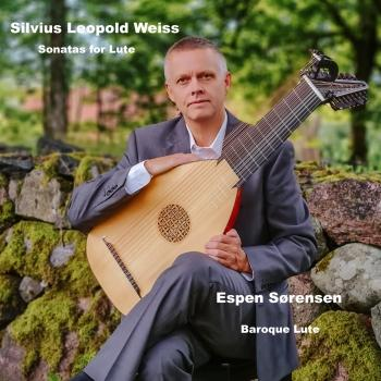 Cover Silvius Leopold Weiss, Sonatas for Lute
