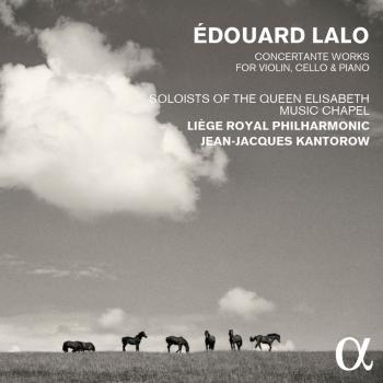 Cover Lalo: Concertante Works for Violin, Cello & Piano