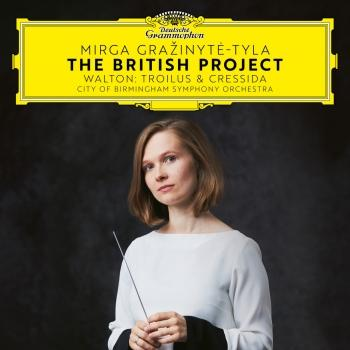 Cover The British Project - Walton: Trolius & Cresida