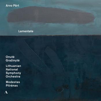 Cover Arvo Pärt: Lamentate