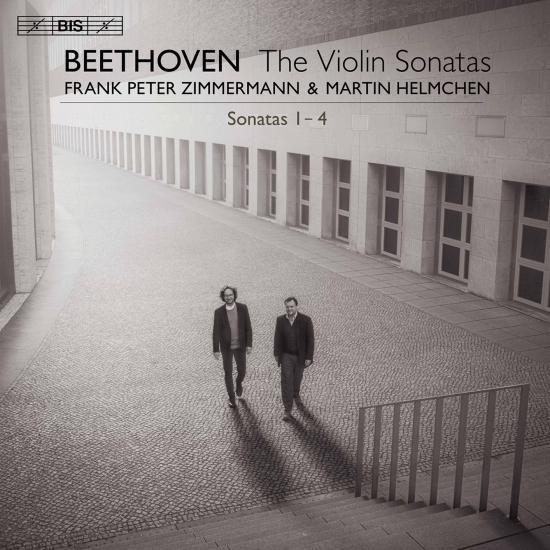 Cover Beethoven: Violin Sonatas Nos. 1-4