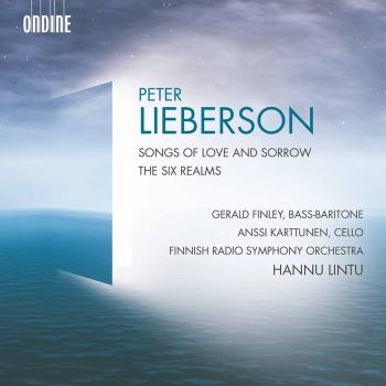 Cover Lieberson: Songs of Love and Sorrow & The Six Realms