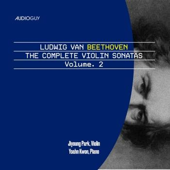 Cover Beethoven The Complete Violin Sonatas, Volume. 2
