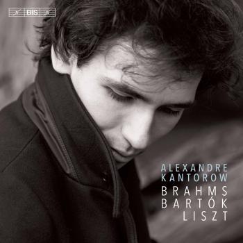 Cover Brahms, Bartók & Liszt: Piano Works