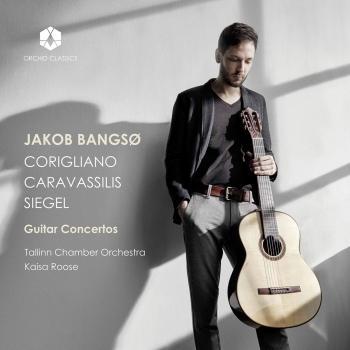 Cover Corigliano, Caravassilis & Siegel: Guitar Concertos