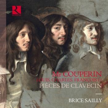 Cover Monsieur Couperin. Louis, Charles, François I ? Pièces de clavecin
