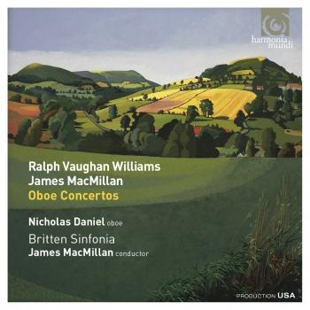 Cover Ralph Vaughan Williams & James MacMillan: Oboe Concertos