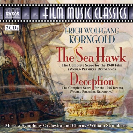 "Cover Korngold: 'The Sea Hawk' & ""Devotion"" – Complete Scores"