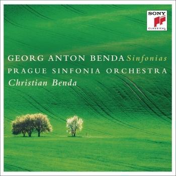 Cover Georg Anton Benda: Sinfonias