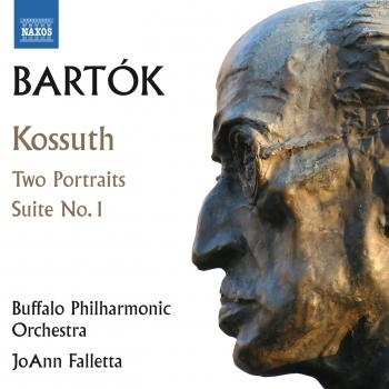 Cover Bartók: Kossuth, 2 Portraits & Orchestral Suite No. 1
