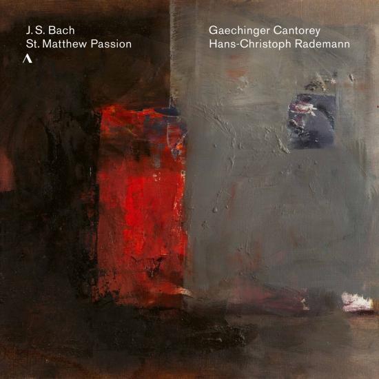 Cover J.S. Bach: St. Matthew Passion, BWV 244