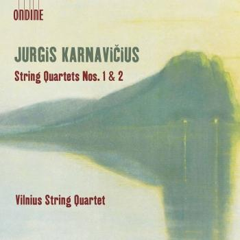 Cover Karnavičius: String Quartets Nos. 1 & 2