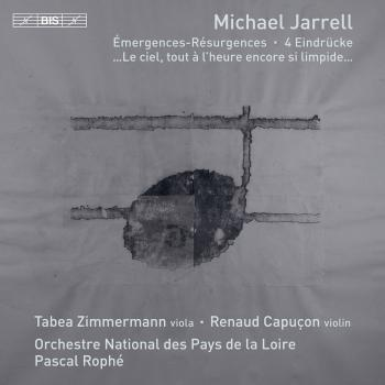 Cover Michael Jarrell: Orchestral Works