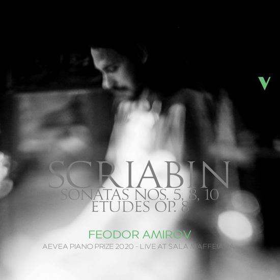 Cover Scriabin: Piano Sonatas Nos. 5, 8 & 10 & 12 Etudes, Op. 8 (Live)