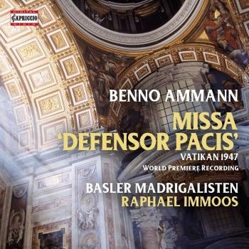 Cover Ammann: Missa Defensor Pacis