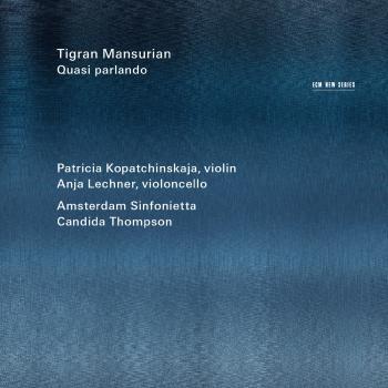 Cover Tigran Mansurian: Quasi parlando
