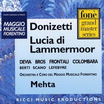 Cover Gaetano Donizetti: Lucia di Lammermoor