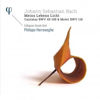 Cover Bach: 'Meins Lebens Licht' - Cantatas BWV 45-198 & Motet BWV 118