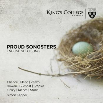 Cover Proud Songsters: English Solo Song