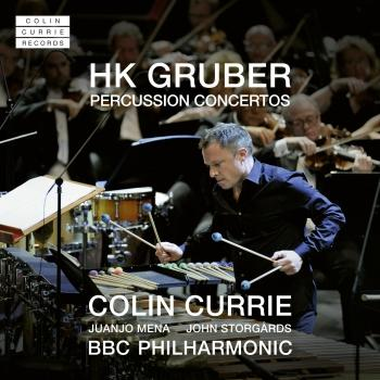 Cover HK Gruber: Percussion Concertos