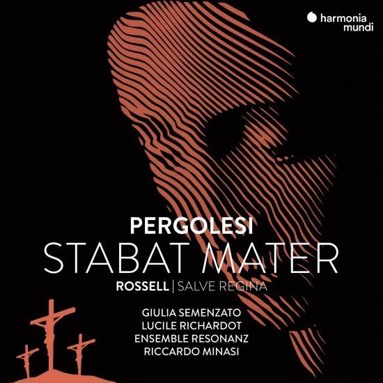 Cover Pergolesi: Stabat Mater - Rossell: Salve Regina