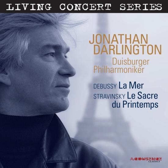 Cover Debussy: La Mer, Stranvinsky: Le Sacre du Printemps