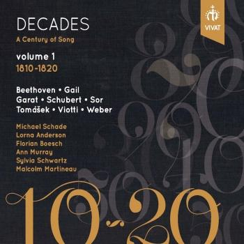 Cover Decades: A Century of Song, Vol. 1 (1810-1820)