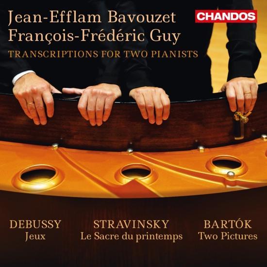 Cover Debussy, Stravinsky & Bartók: Transcriptions for 2 Pianists