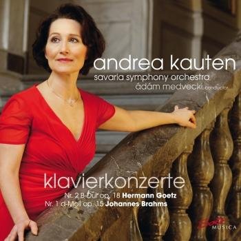 Cover Goetz: Piano Concerto No. 2 & Brahms: Piano Concerto No. 1
