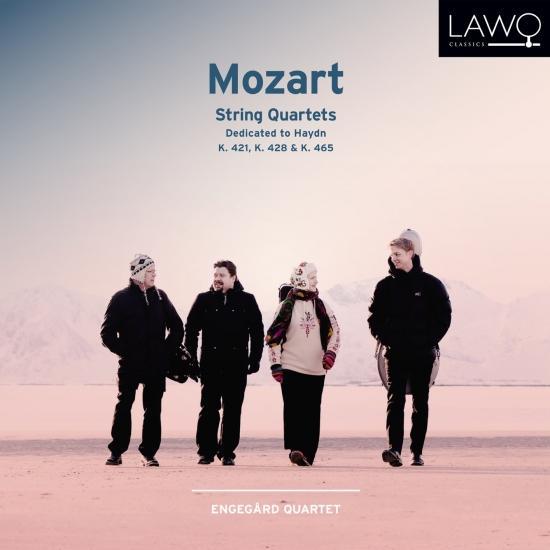 Cover Mozart: String Quartets - Dedicated to Haydn - K. 421, K. 428, K. 465
