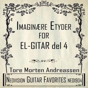 Cover Imaginære etyder for el-gitar del 4