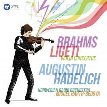 Cover Brahms & Ligeti: Violin Concertos